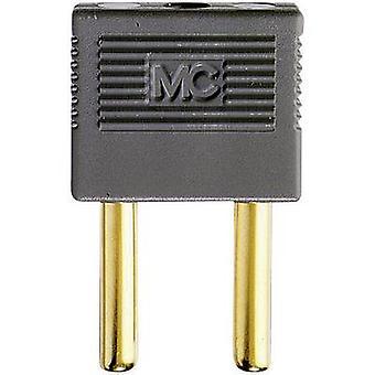 Connector Grey Pin diameter: 4 mm Dot pitch: 14 mm Stäubli EK-400 1 pc(s)