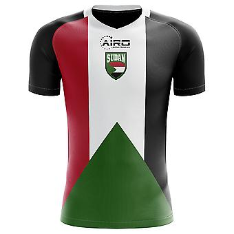 2018-2019 Soedan Home Concept voetbalshirt