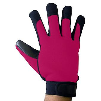 Boss Tech Mechanic's Style Touch Screen Gloves for All Touch ScreenDevices (Blac
