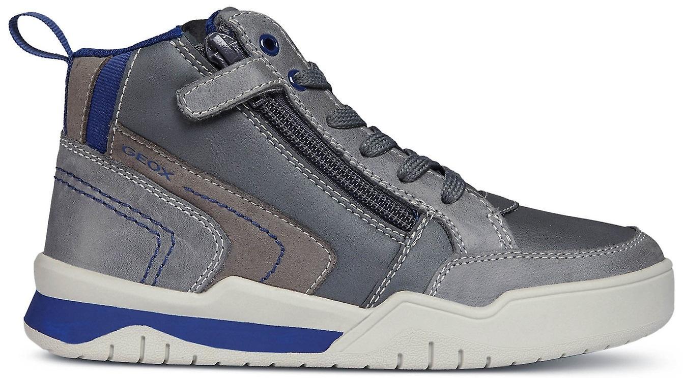 Geox garçons Perth J847RB bottes gris bleu
