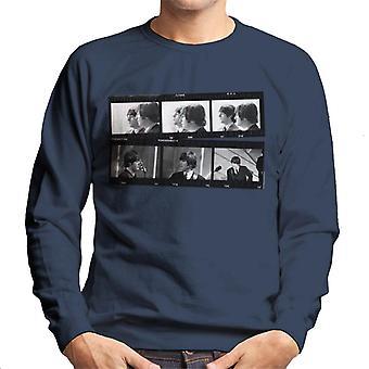 TV Times Beatles Lennon McCartney Show Photo Strip Men's Sweatshirt