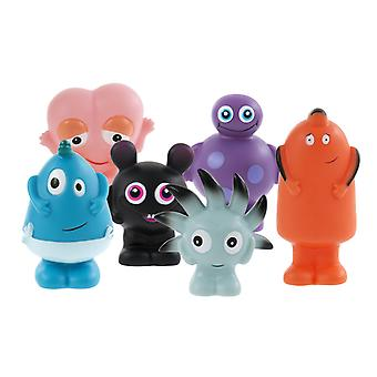 Figurines en plastique BABBLARNA 6 G-Mix