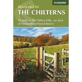 Marchant dans les Chilterns - 35 promenades dans les collines de Chiltern - une superficie de