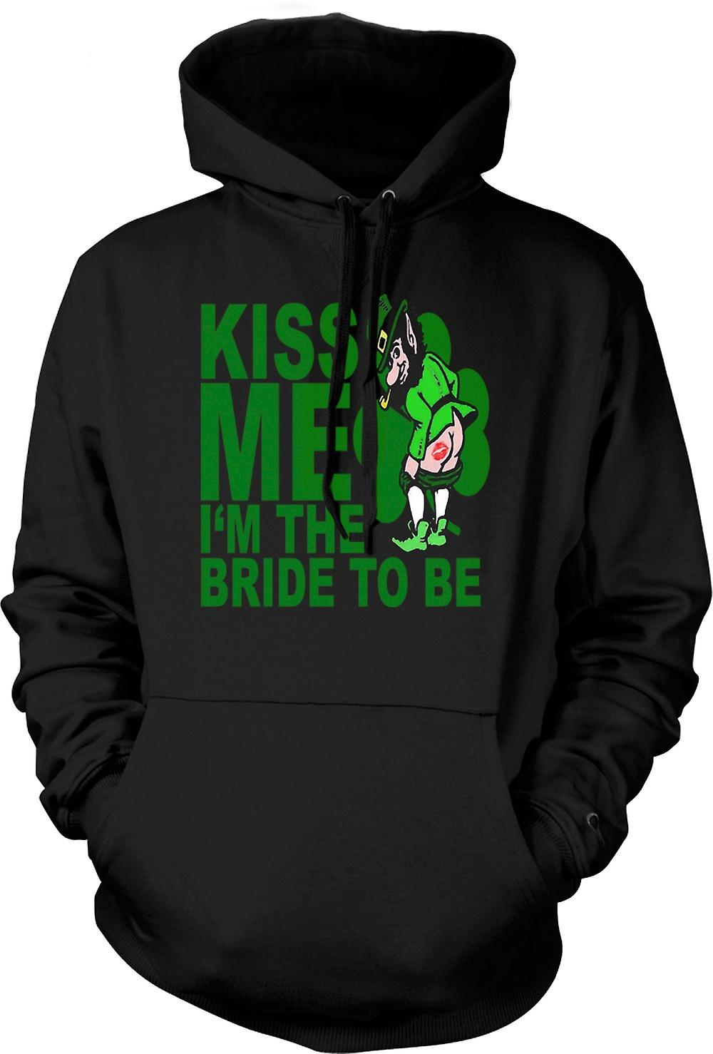 Kids Hoodie - St Patricks Day Irish Kiss Me - Funny