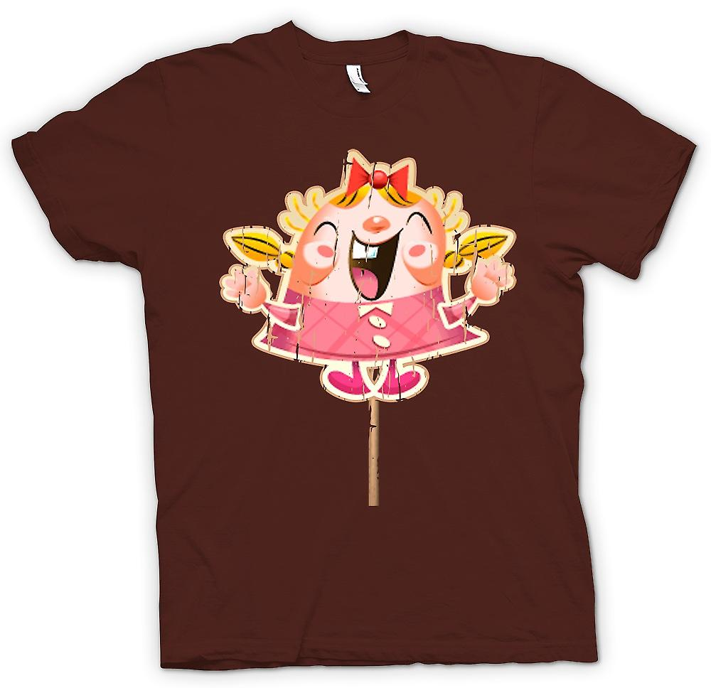 Heren T-shirt - Tiffi - Candy Crush Gamer