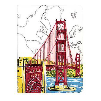 San Francisco Golden Gate Handmade Journal by Galison