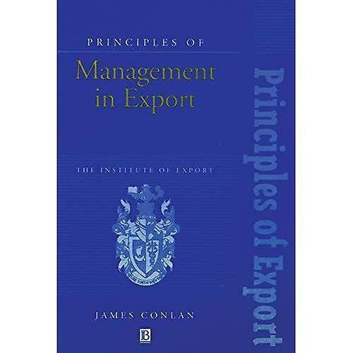 Principles of Management in Export (Institute of Export)