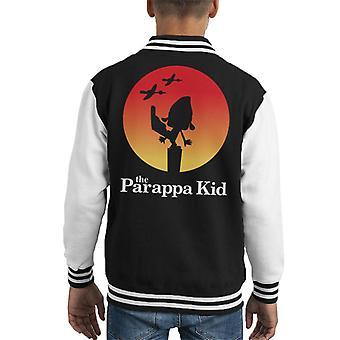 De Parappa Kid Kid's Varsity Jacket