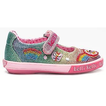 Lelli Kelly Rainbow Sparkle LK9070 Canvas Shoes