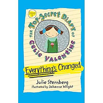Everything's Changed (The Top-Secret Diary of Celie Valentine)