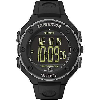 ساعة اليد تيميكس الرقمية مشاهدة T49950، والبلاستيك، والأسود