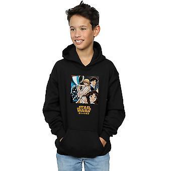 Star Wars Boys Anime Poster Hoodie