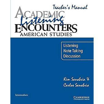 اللقاءات الأكاديمية الاستماع الدراسات الأمريكية المدرسين الاستماع اليدوي أخذ علما والمناقشة من جانب كيم آند سانابريا