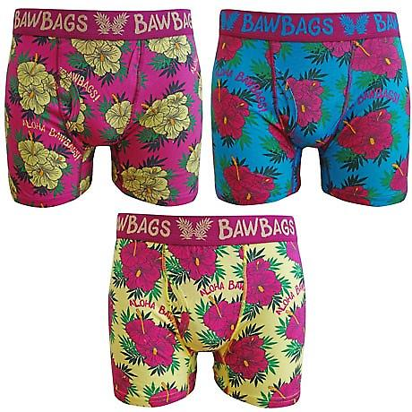 BawBags 3 pack Boxers - Aloha