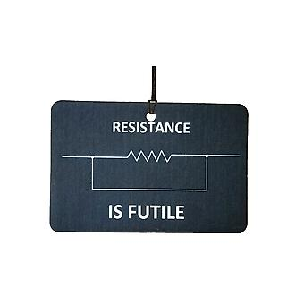 Resistance Is Futile Car Air Freshener
