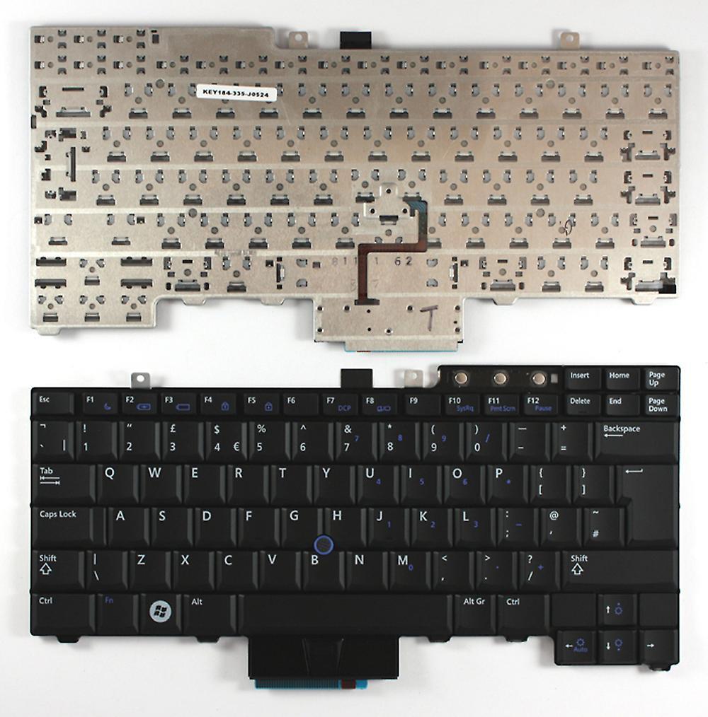 Dell Latitude E6500 noir avec pointeur UK Layout remplaceHommest clavier d'ordinateur portable