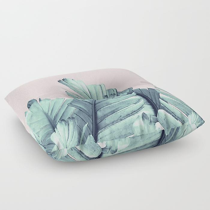 Baby Pillow Leafs On Floor Pink 5qj3LA4R