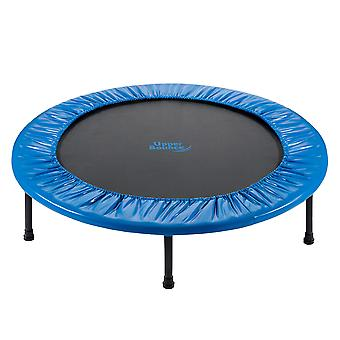 Upper Bounce - 40 Inch 101cm Mini Fitness Exercise Trampoline Rebounder Trampette for Gym, Indoor Workou, Cardio, Weight Loss - Two-Way Foldable with Carry-on Bag