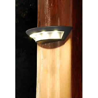 Ghost Contemporary Outdoor LED Wall Light in Graphite