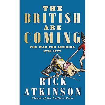 Les britanniques sont à venir: la guerre pour l'Amérique, Lexington à Princeton, 1775-1777