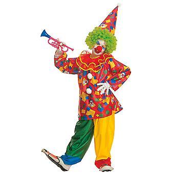 Funny clown (jas met kraag broek hoed) Childrens