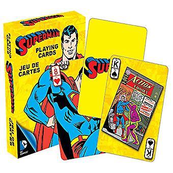 DC Comics Superman Retro Playing Cards