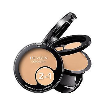 Revlon Colorstay 2in1 Kompakt Make-up + Concealer