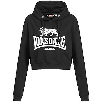 Lonsdale Women's Hooded Sweater Cropped Roxeth