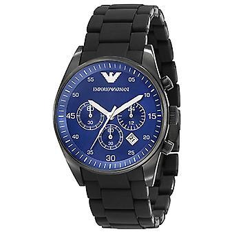 Emporio Armani Ar5921 Mens Blue Face Sportivo Chrongraph Watch