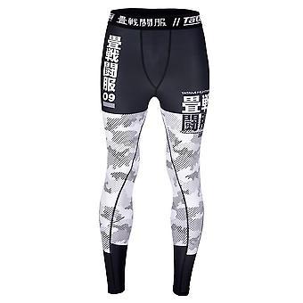 Tatami Fightwear Essential Camo Spats Black/White