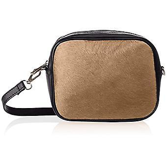 Chicca Bags 1616 Women's Beige Shoulder Bag (Taupe) 22x16x7 cm (W x H x L)