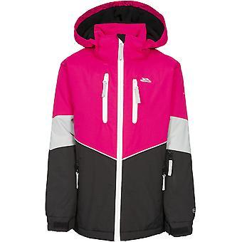 Trespass Girls Olivvia gewatteerde Hooded verstelbare Ski jas