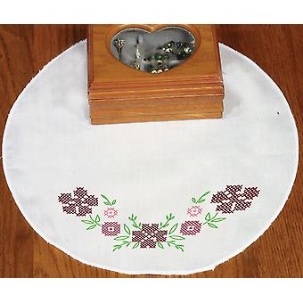 Stamped Doily 12