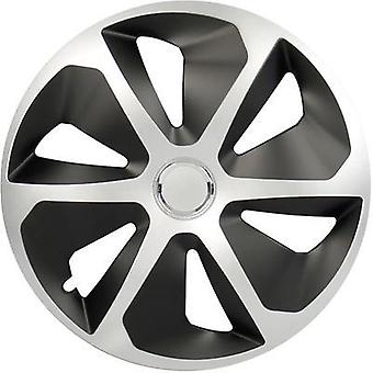 Wheel trims cartrend Roco R15 Silver, Black 4 pc(s