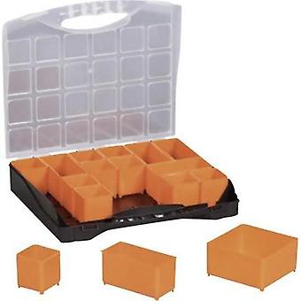 Assortment case (L x W x H) 300 x 255 x 54 mm Alutec No. of compartments: 16 variable compartments