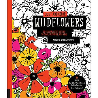 Rockport Books-Just Add Color - Wildflowers RKP-91334