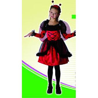 Guirca Ladybug Costume Child Size 4-6 years (Kostuums)