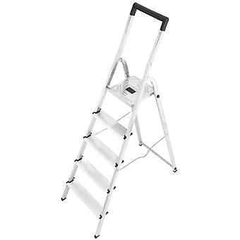 Hailo Aluminum ladder L40 Easyclix (6 Steps) (DIY , Tools , Stairs and stools)