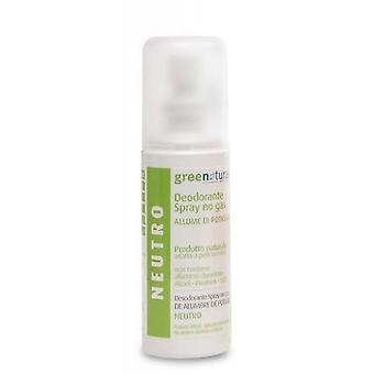 Green People No Gas Deodorant Spray 100 Ml Alum Neutral
