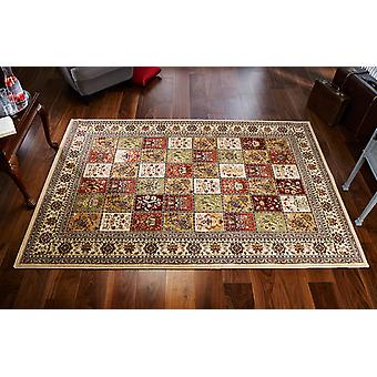 Royal Classic  231i Shades of yellow, red, green and beige Rectangle Rugs Traditional Rugs