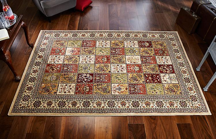 Royal Classic 231i nuances de jaune, rouge, vert et beige Rectangle Tapis Tapis traditionnels