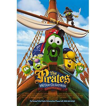 Die Piraten, die nicht tun nichts A Veggie Tales Movie Movie Poster (11 x 17)