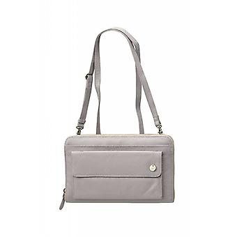 Dr Amsterdam shoulder bag Mint Elephant Skin Grey