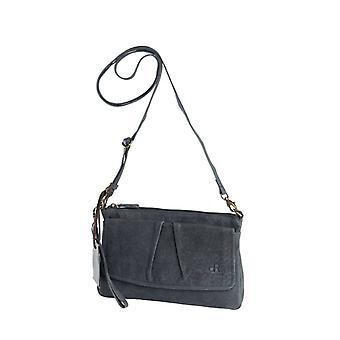 Dr Amsterdam shoulder bag/Clutch Olive Marlin Blue