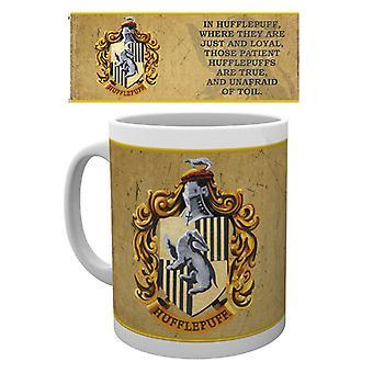 Harry Potter hufflepuff taza de características