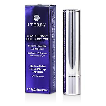 By Terry Hyaluronic Sheer Rouge Hydra Balm Fill & Plump Lipstick (UV Defense) - # 5 Dragon Pink 3g/0.1oz