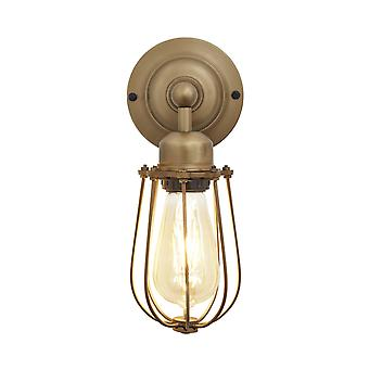Orlando Vintage Wire bur Retro Sconce væglampe - messing - 4