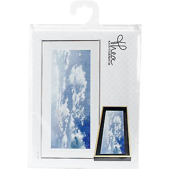 Sky Study VIII On Aida Counted Cross Stitch Kit-5.75