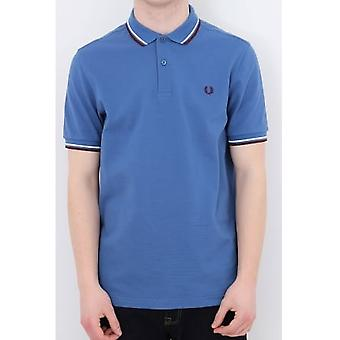 Fred Perry M3600 Classic Tipped Polo - School Blue