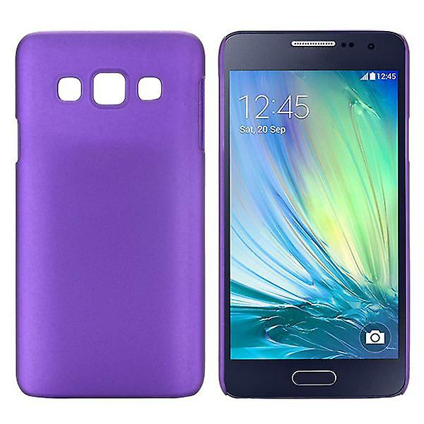 Hard case rubber purple sleeve for Samsung Galaxy A3 A300 A300F